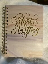 Ustyle Journal 100 Sheets Pink Start By Starting