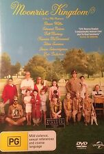 Moonrise Kingdom Bill Murray Bruce Willis Tilda Swinton  Region 4 DVD VGC