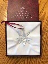Swarovski 1991 Annual Edition Christmas Ornament In Box Excellent RETIRED