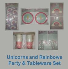 Let's Party - Unicorns and Rainbows Party & Tableware Pack