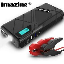 Imazing Portable Car Jump Starter 1500A Peak 12V Battery 12000mAH USB Power Bank