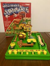Vintage Tomy Screwball Scramble 80s Game family fun skill VGC Complete Working