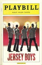 PLAYBILL - AUGUST WILSON THEATRE - NY - JERSEY BOYS - 2007 + USED TICKETS