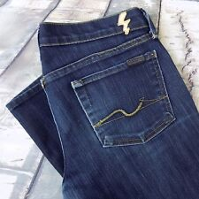 7 For All Mankind Jeans Size 32 Women's Straight Leg Sz 32/33