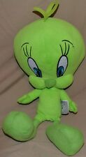 "16"" Green Tweety Bird Plush Dolls Toys Stuffed Animals Looney Tunes Toons Kids"
