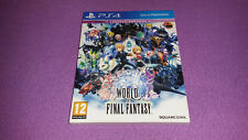 World of Final Fantasy Limited Edition / PS4 / Playstation 4 / DLC Usados