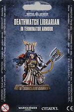 Warhammer 40K: Deathwatch / Blood Angels: Terminator Librarian (39-24) NEW