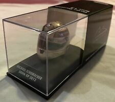 1:8 Minichamps Michael Schumacher 300th GP 2012 Helmet - New Condition