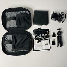 Brookstone HDMI Pocket Projector DLP Smartphone Tablet Laptop Game Compatible