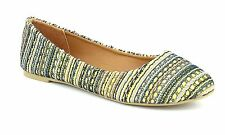 Women's Mata Shoes Mata Women's Fancy Printed Ballet Flats: Gray/7.5 Grey
