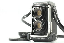 [ Near Mint ] Mamiya C220 Pro TLR Camera w/ 80mm f/3.7 Lens and Hood from JAPAN