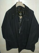 barbour beaufort jacket waxed cotton blu  giacca   c48-122 xl