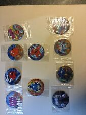 Collectible Walkers Monster Munch Tazo full set 31-40 Free UK Post