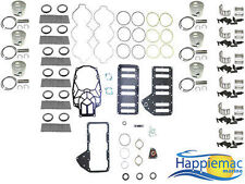Mercury 3.0L 200 225 250 HP V6 OptiMax Powerhead Rebuild Kit Round Piston Gasket