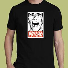 Obey american psycho christian bale tee comedy horror S M L XL 2XL 3XL t-shirt