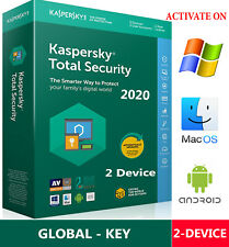KASPERSKY TOTAL Security 2020 / 2 Device / 1 Year / GLOBAL - KEY