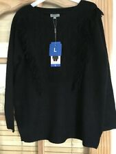 Brand New With Tags Women's Joseph A Black Jumper Size L
