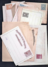 14 Latin America Unused Postal Stationery (1880-1910) As Per Scans (Jn010)