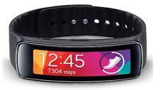 Samsung Galaxy Gear Fit SM-R350 Smartwatch Fitness Black w/ Curved Super Display