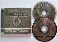 ⭐⭐⭐⭐  TECHNO 2000  ⭐⭐⭐⭐   2 CD 37 Tracks  ⭐⭐⭐⭐  T2000  ⭐⭐⭐⭐  ZYX   ⭐⭐⭐⭐
