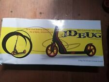 JD Bug Pro Commute 185 Series Scooter Black Gold Brand New