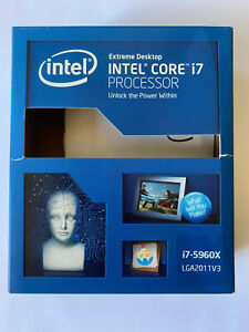 Intel Core i7 5960x 8 Core 3.0Ghz up to 3.5Ghz LGA2011-v3 CPU Extreme Edition