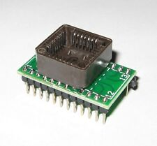 PLCC28 to DIP24 ADAPTER | SUPPORTS MOST PROGRAMMERS GQ-4X, CHIP PROG, TL866