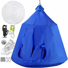 Go! HangOut HugglePod Hanging Tree Tent with LED Lights, 45dx54 H - Blue