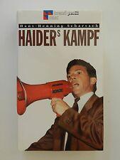 Haiders Kampf Hans Henning Scharsach Jörg Haider Trend Profil Buch