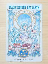 RARE CLAMP Magic Knight Rayearth Phone card Japan Anime/864