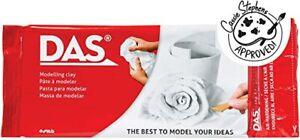 DAS White Modelling Air Drying Clay 1 kg Creative Gift Kids Brain Training.