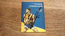 WEST COAST EAGLES FC STAR TYSON STENGLEIN HAND SIGNED AFL CARD