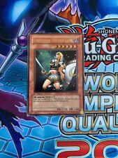 Yugioh, SOD-EN033, Penumbral Soldier Lady, Ultimate Rare, 1st Edition, VLP