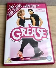 Grease DVD (2006) John Travolta, Kleiser (DIR) cert PG 2 discs Singing dancing