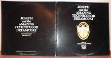 JOSEPH and the AMAZING TECHNICOLOR DREAMCOAT (Vinyle 33t/ LP) 1971 - Pressage US