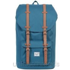 HERSCHEL SUPPLY CO. Indian Teal / Tan LITTLE AMERICA BACKPACK