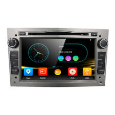"GREY 7"" HD CAR CD DVD PLAYER STEREO GPS RADIO OPEL VAUXHALL ASTRA H CORSA"