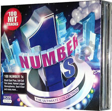 The Ultimate Number 1 Ones 5 CD Original Recordings of 60s 70s 80s 90s 00s Music