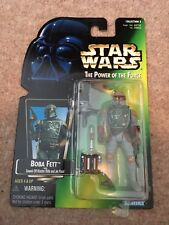 Star Wars Boba Fett Bounty Hunter Power of The Force Figure Kenner 1995