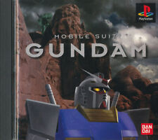 Mobile Suit Gundam  PS1 Playstation Japanese Import  N.Mint/Good  US SELLER