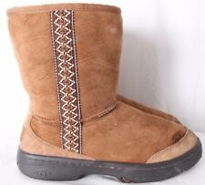 UGG Australia 5212 Ultimate Tas Chestnut Sherling Suede Ankle Boot Women's US 7