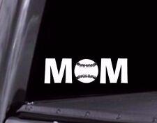 Baseball Mom Vinyl Decal for Car Window, Cooler, Laptop, etc. Bogo Free! Usa