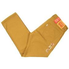 Levis 505 Jeans Mens New Size 34 x 30 CARAWAY ( DARK KHAKI ) Straight Leg NWT