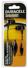 Duracell Stereo Headset w/ Mic for iPhone, iPod, MP3, CD, DVD Players (DU3001)