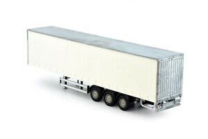 Tekno | 79605 3 axles curtain side trailer kit 1:50 Scale