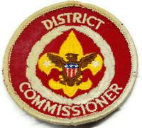 Vintage Boy Scout District Commissioner Patch