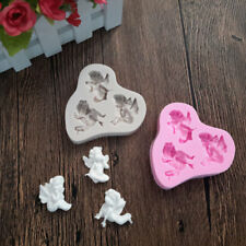 3D Baby Angel Silicone Fondant Mould Cake Mold Baking DIY Decorating Tools