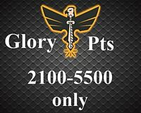 Legend Rank Not Forgotten 2100 - 5500 glory points Ps4 ( Crossave Pc Xbox  )