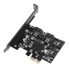 PCI Express zu SATA 3.0 4-Port SATA III 6G Expansions Regler-Adapter Karte