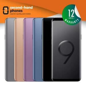 Samsung Galaxy S9 Plus SM-G965 -64/128/256GB -Unlocked-2018 UK Spec (Single SIM)